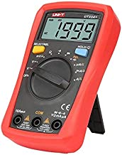 UT33A+ UNI-T Palm Size Digital Multimeter Auto-Range LCD Display LCD Display, Equipped with Comfortable Protective Cover, ...