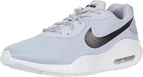 Nike Air Max Oketo Sneaker, Sky Grey/Black-Track Redwhite, 8.5 Regular US
