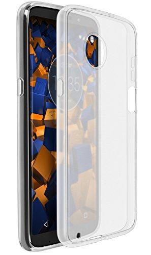 mumbi Hülle kompatibel mit Motorola Moto Z3 Play Handy Hülle Handyhülle, transparent