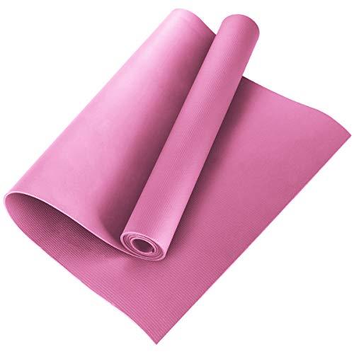 HelloCreate - Esterilla de Yoga EVA Antideslizante, Almohadilla de Fitness, Ejercicio, Gimnasio, Pilates, meditación