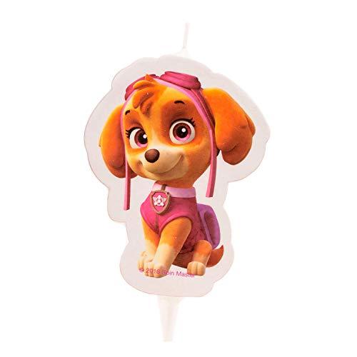 Dekora - Vela de Cumpleaños 2D Skye Patrulla Canina