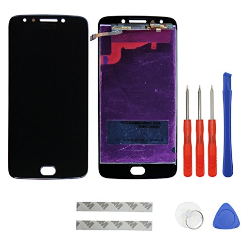 swark LCD Display Compatible with Motorola Moto E4 E 4 Gen XT1767 XT1768 Digitizer Touch Screen Assembly Replacement (Black) + Tools