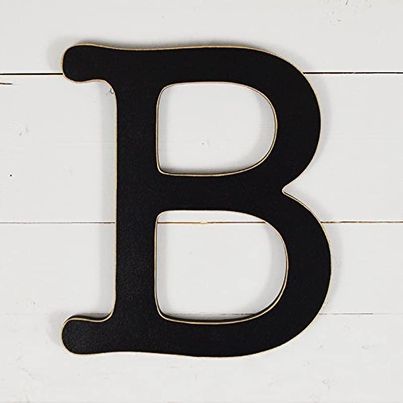 UNFINISHEDWOODCO 300561 Typewriter Wall Decor Letter B 11 5 Black