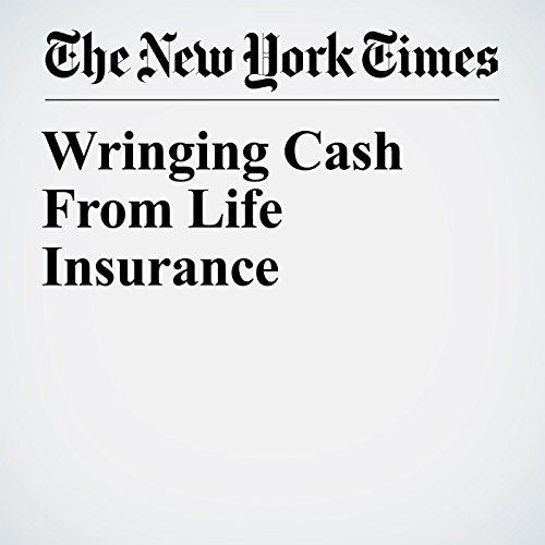 Wringing Cash From Life Insurance copertina