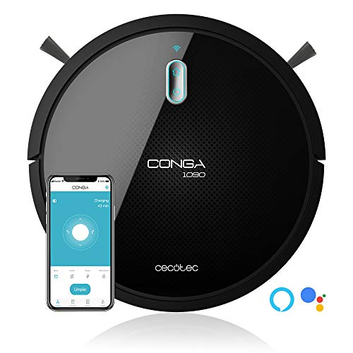 Cecotec Robot Aspirapolvere Conga 1090 Connected Force. Alexa Google Home