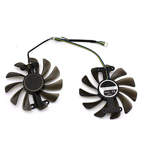 iHaospace GF10012H12SPA Replacement Graphics Card Cooling Fan for ZOTAC GTX 1080 AMP Dual Cooler Fan 95mm 4Pin