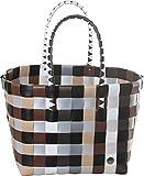 5008-31 Mini Ice-Bag Shopper , kleiner Einkaufskorb - original Witzgall, braun-gelb-weiß