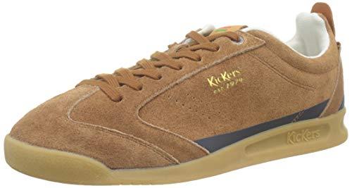 Kickers Kick 18, Zapatillas para Hombre, Marrón (Marron 9), 42 EU