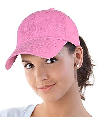 Pink Cap Classic Cotton