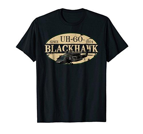 UH-60 Blackhawk Helicopter Vintage Design T-Shirt