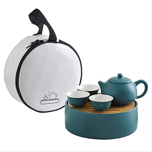 Zhuoyi Tea Gift Box Child With Tea Set Portable, Durable, Lightweight, Shockproof, Ceramic, Corrosion-resistant, Easy To Clean, High-temperature Firing, Tea Set