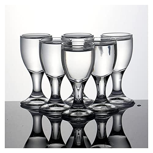 Copa de vino de cristal pequeño de 20 ml (capacidad: 20 ml)