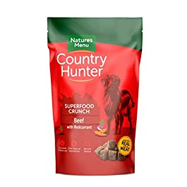 Natures Menu Natures Menu Country Hunter Superfood Crunch Beef with Redcurrants 1.2kg