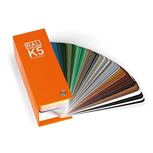 RAL K5 CLASSIC Farbfächer semi-matt