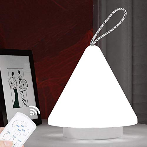 Tafellamp, oplaadbaar, bedlamp, draadloos, LED, thuis, USB, touch-schakelaar, oplaadbaar, lichtschakelaar voor camping, outdoor, met 10 helderheidsniveaus