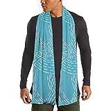H.D. Bufanda de algodón para hombre y mujer de invierno, de colores a mano, larga, cálida, suave,...