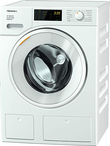 Miele WSD 663 MODERN LIFE, Lavatrice Standard, A+++ -10%, 50 dB, 1400 rpm, Carico Frontale, 8 kg, Bianco
