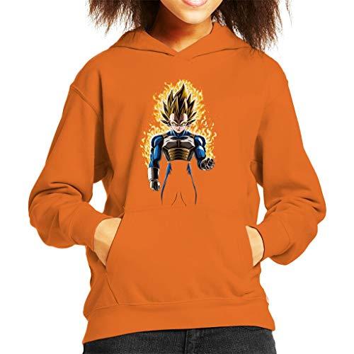 Fire Prince Super Saiyan Four Dragon Ball Z Kid's Hooded Sweatshirt