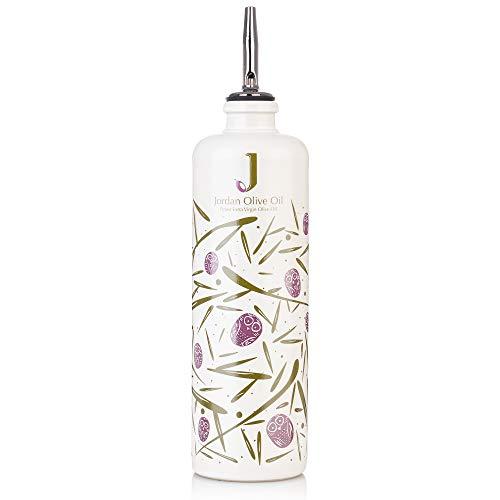 Jordan Keramik Flasche - bunte Symbole inkl. Ausgießer