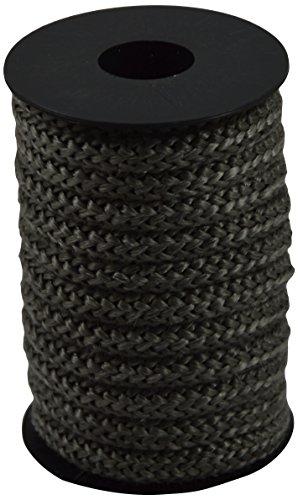 Corderie Italiane 006026327 Treccia in Fibra Vetro Grigia, 10 mm, 5 m
