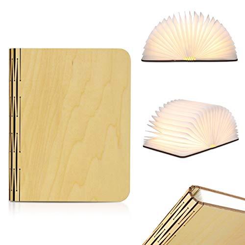 Lámpara de Libro, XYEU Lámpara Plegable de LED Lámpara de Ambiente Magnética...