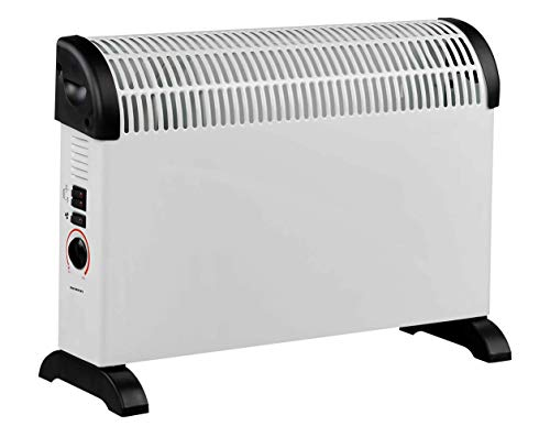 CONVECTOR INFINITON HCT-200 2000W (termostato Regulable, 3 Niveles de Temperatura, Protección sobrecalentamiento, Regulador de Potencia para un bajo Consumo)