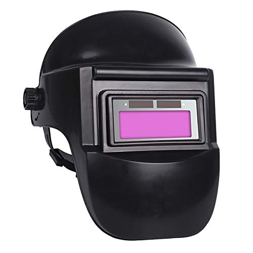 Chnrong - Casco de soldadura con regulación automática completa solar din9-13 de la gama de sombra, para soldador de arco casco para soldar ajustable gafas oscurecedoras