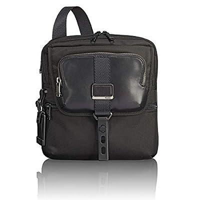 TUMI - Alpha Bravo Arnold Zip Flap Crossbody Bag - Messenger Bag for Men and Women - Black
