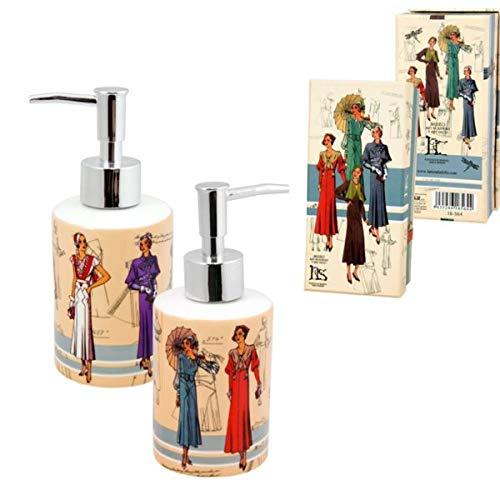 Museo Art Nouveau y Art Déco - Casa Lis - Dispensador de Jabón para Baño y Cocina, Diseño Moda Años 20