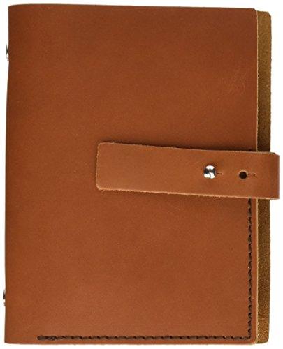 Makro Paper S5-HN - Agenda de piel pequeña, marrón claro