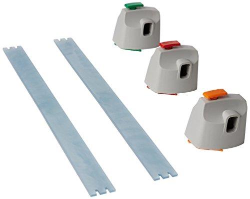 Dahle 960 Kreativ-Set (3 Schneideköpfe für Zick-Zack, Perforation und Bütten-Schnitt, passend für Dahle 507 Rollschneider - alte Generation, nicht für Modell 2020)