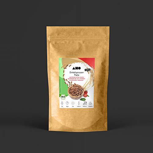 AHO Dinkelsprossen Pasta 300g | Nudeln aus gekeimtem Dinkel | Bio, Vegan, Plastikfrei (300g)