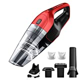 Holife Handheld Vacuum Cordless Wet Dry Bagless Cleaner,Portable Powerful Hand Car Vac Pet