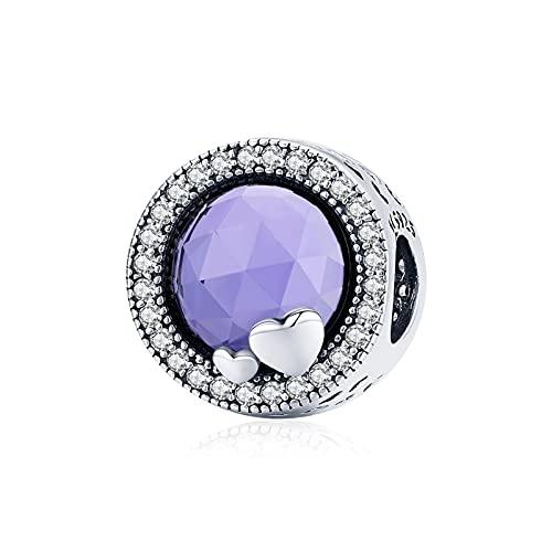 HMMJ Charms Colgantes para Pulsera Pandora de Plata de Ley 925 Bead Charm para Mujer-Wonderful Fairytale Town (Color : Magic Pearls)