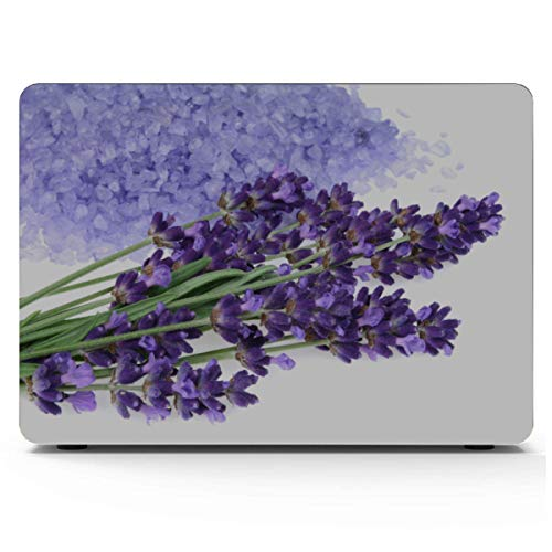 MacBook Air Case Purple Bunch Lavender Flowers Blossom Mac Book Air Case Hard Shell Mac Air 11'/13' Pro 13'/15'/16' with Notebook Sleeve Bag for MacBook 2008-2020 Version
