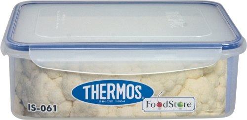 Thermos Is061 Air Tight Boîte à Provisions Rectangulaire 2.6 L Transparent