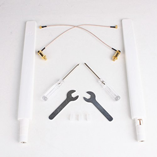 Drone Fans Remote Controller Omni-Directional Antenna Refitting Combo Long Range Antenna Range Extender for DJI Phantom 4 PRO Pro Plus / Inspire 2 / M200