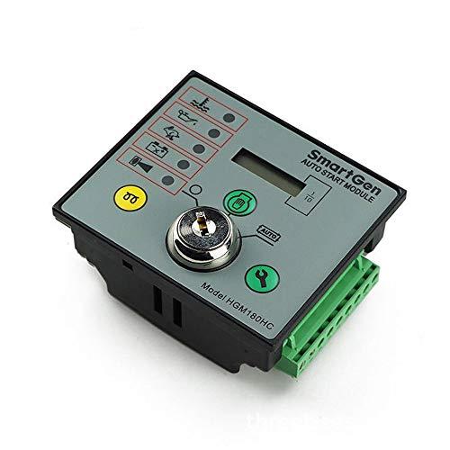 Fácil de instalar Diesel Controlador grupo electrógeno, generador único módulo de la máquina de arranque automático