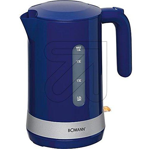 Bomann Wasserkocher WK 5012 CB blau