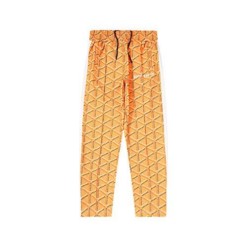 Tij merk koppels volledige print joggingbroek broek lente en zomer elastische taille trekkoord casual broek, geschikt voor training, training, fitness