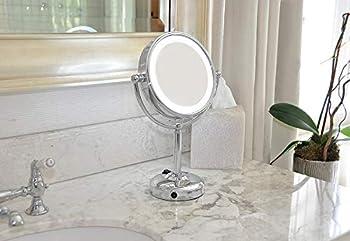 Floxite Company Inc 10x Plus 1x Lighted Vanity Mirror