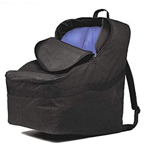 Car Seat Carrier Bag Car Seat Backpack Zippered Car Seat Travel Bag Dustproof 20.1 x 20.1 x 35in Backpack for Baby