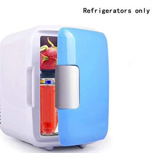 HehiFRlark - Frigorífico portátil para coche (4 L), color azul