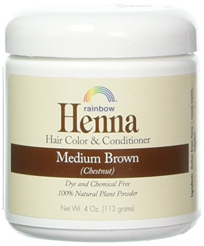 Rainbow Research Henna Hair Color and Conditioner, Persian Brown Chestnut, 4 Ounce (HEN40004)