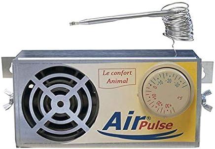 FP Ambiente caseta Perro gallinero Clapier a Air pulsé-150 W