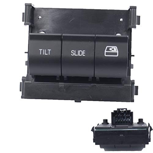 MOCW SW6643 Overhead Console Switch Fit for 2011-2017 Ford F250 F350 F450 F550 Super Duty Overhead Sunroof Switch 9L3Z-15B691-DA