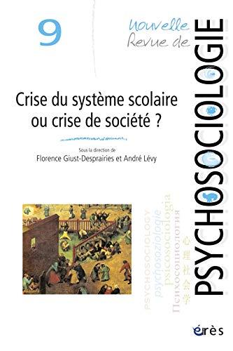 Nouvelle revue de psychologie 9. Crise