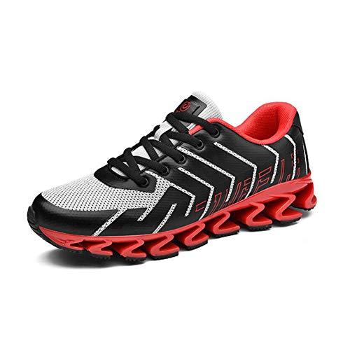 WYX Neue Herren-Sneakers Sportschuhe im Freien Casual Mens Schuhe Schoß Breathable Running Shoes,B,41
