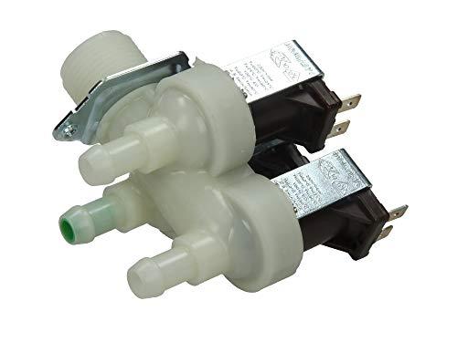 Miele Bosch - Electroválvula de lavadora triple carga agua 3 vías 90° 1678013