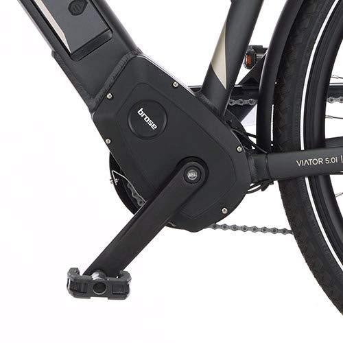 FISCHER Damen – E-Bike Trekking VIATOR 5.0i (2020), grau matt, 28 Zoll, RH 49 cm, Brose Drive C Mittelmotor 50 Nm, 36V Akku im Rahmen Bild 4*